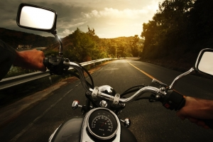motorcycle-on-road